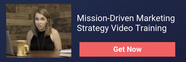 Mission driven marketing strategy  training